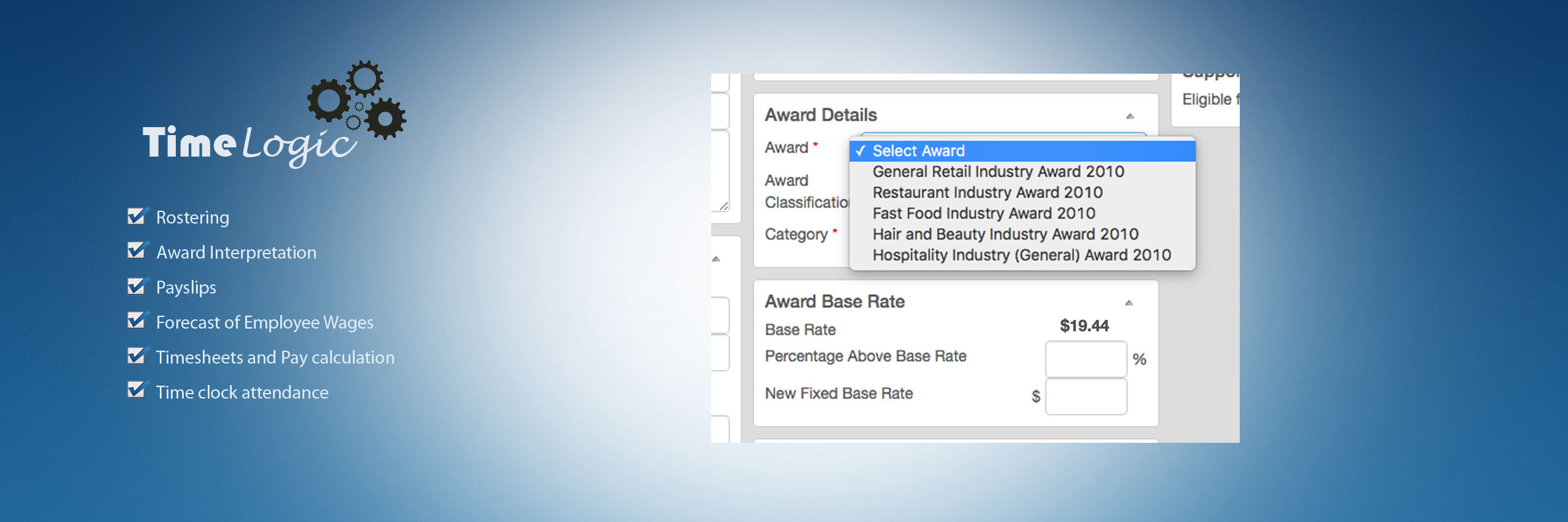 Use Award Rates Or Above Award Rates  Online Payslip Template